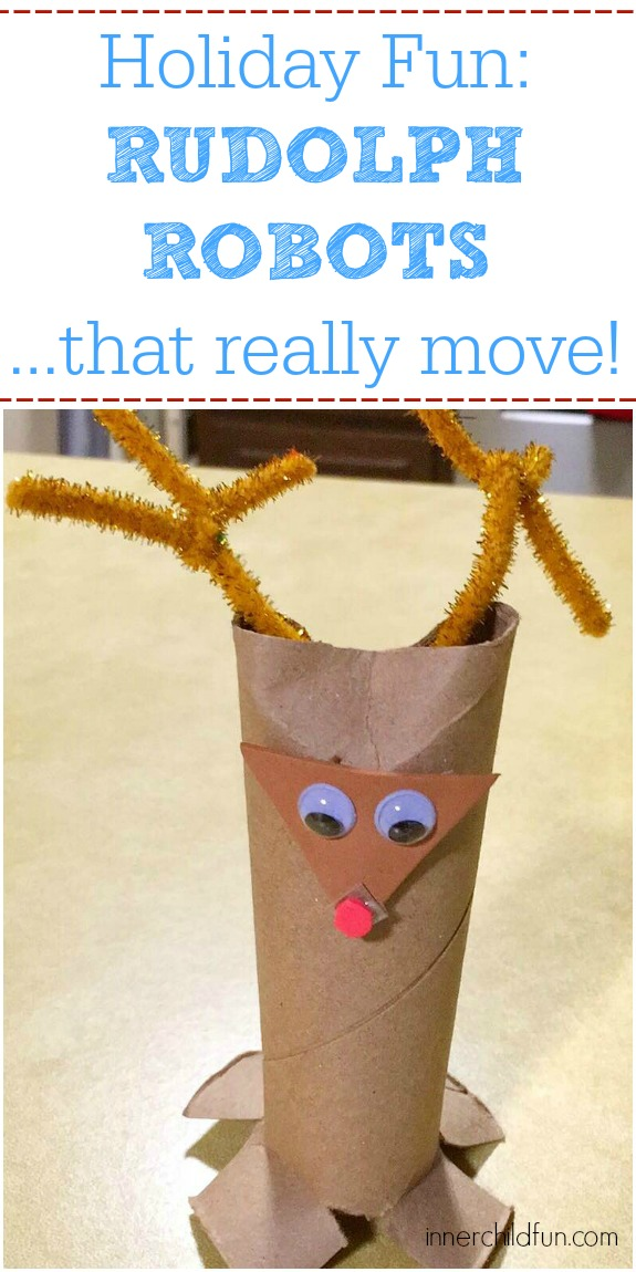 Holiday Fun - Rudolph Robots!
