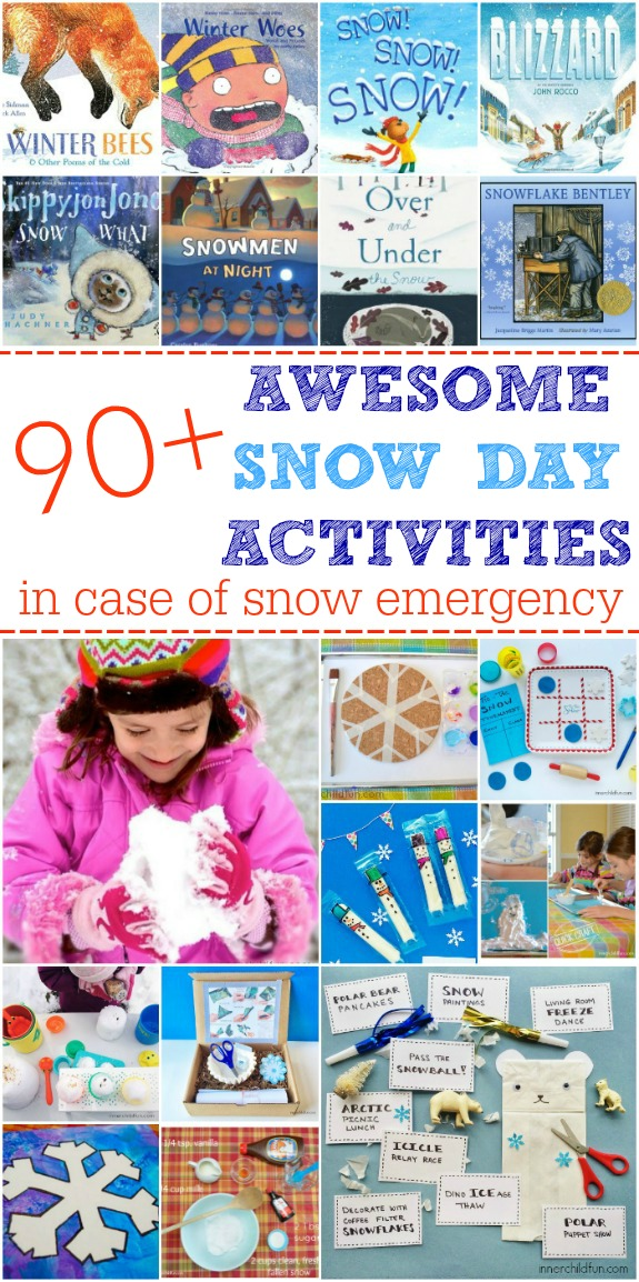 Snow Books, Crafts, and Activities