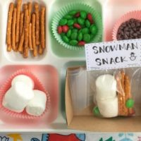 Winter Treat – Snowman Snack Mix