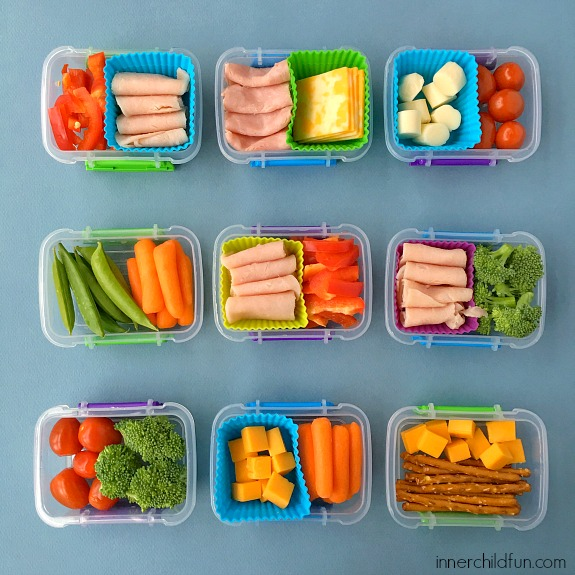10 Days of After School Snacks (no repeats) - Inner Child Fun