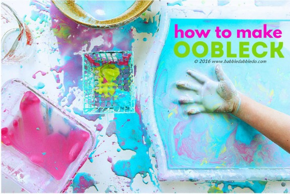 Dr. Seuss Activities - make oobleck