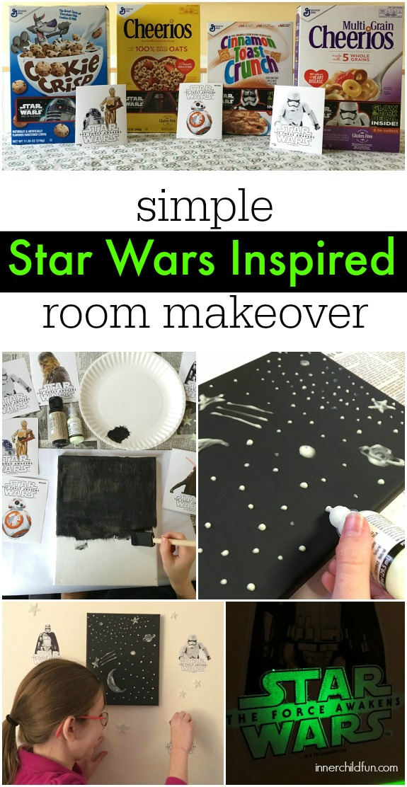 Simple Star Wars Room Makeover