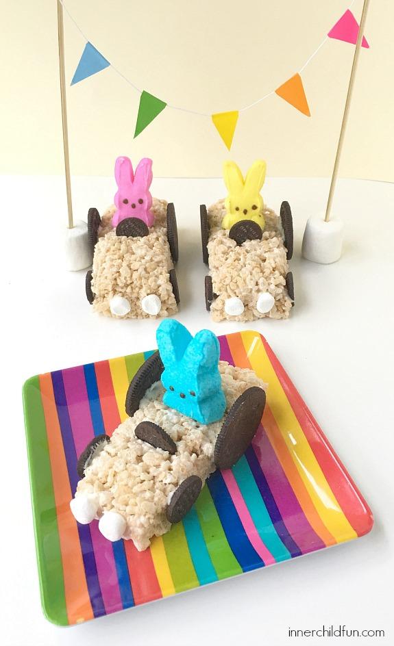 Rabbit Racers - No Bake Treat