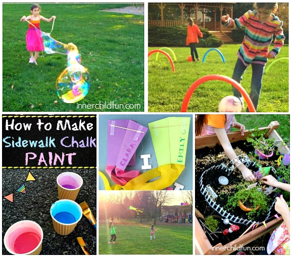 Our Favorite Activities for Outdoor Play