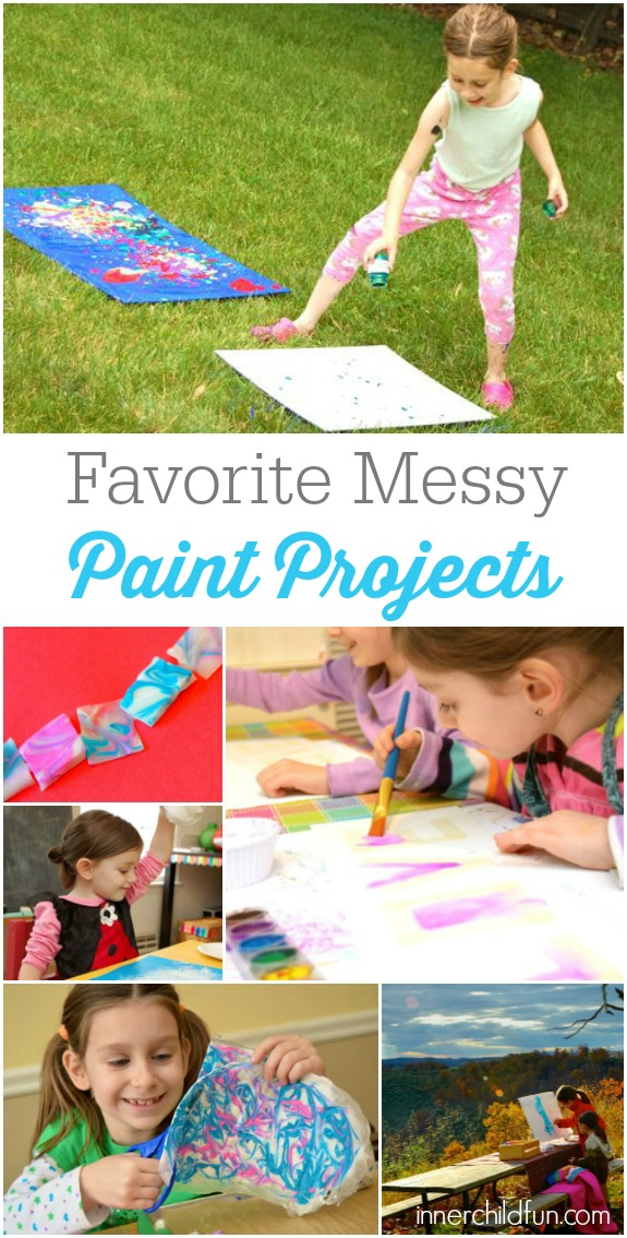 Favorite Messy Paint Projects!