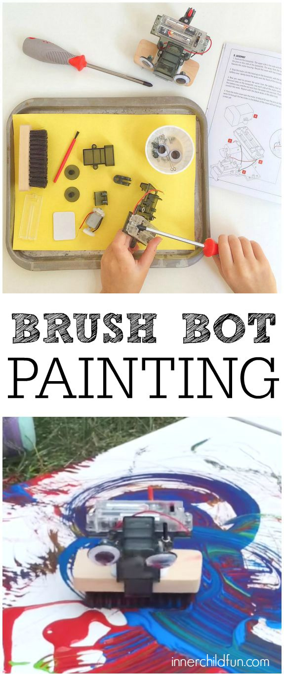 Favorite Messy Paint Projects