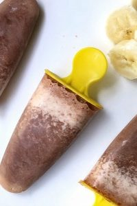 Banana Chocolate Smoothie Pops