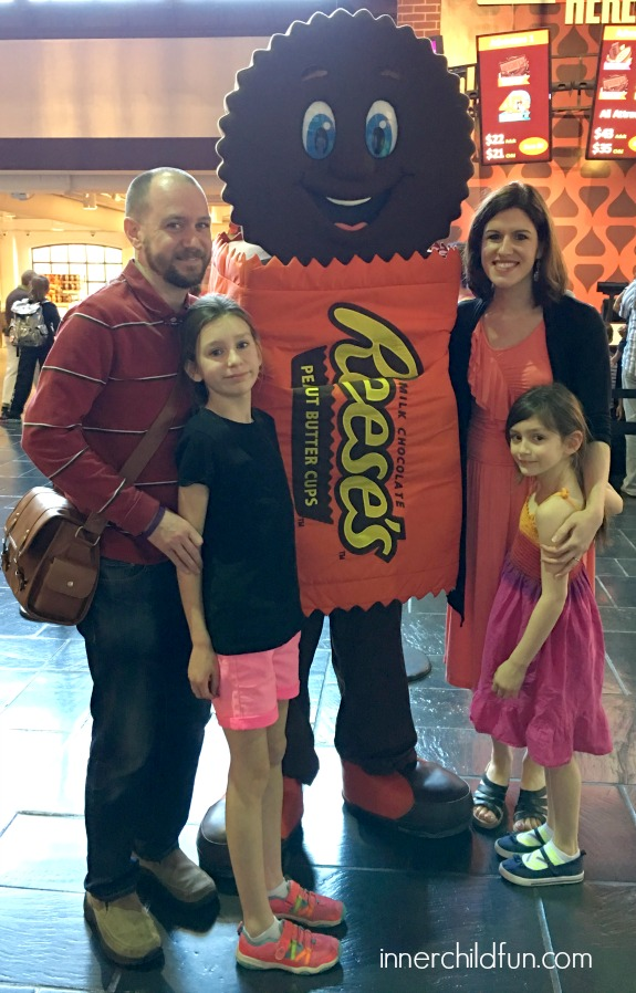 Exploring HERSHEY'S CHOCOLATE WORLD