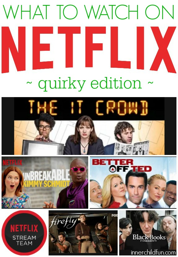 What to Watch on Netflix Streaming - Quirky Edition