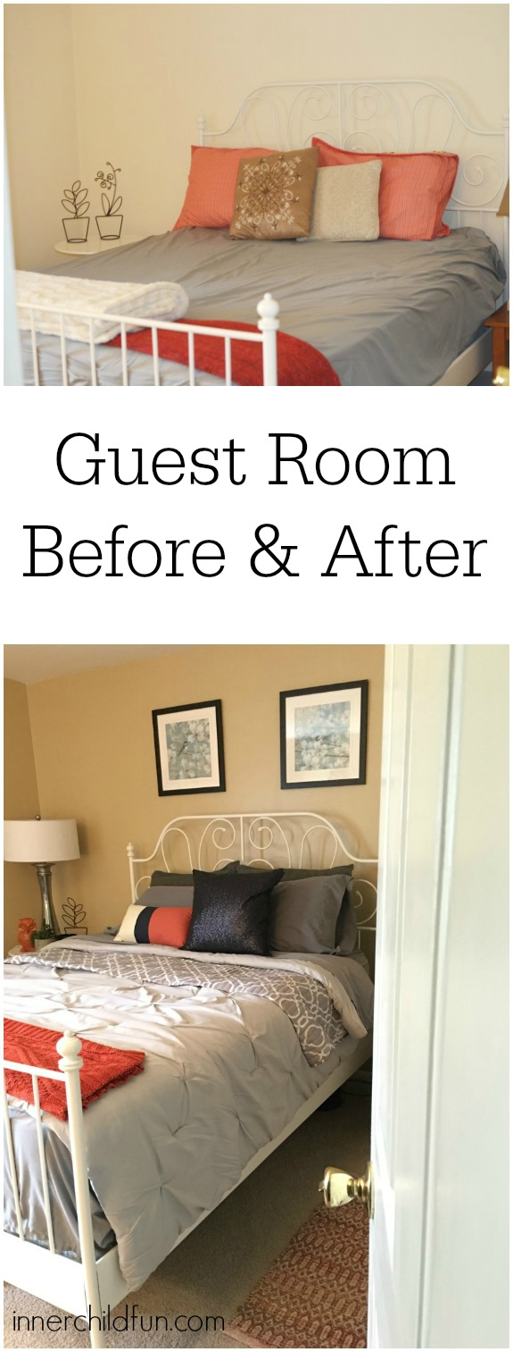 Guest Room Makeover - Before and After