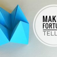 How to Make Paper Fortune Tellers