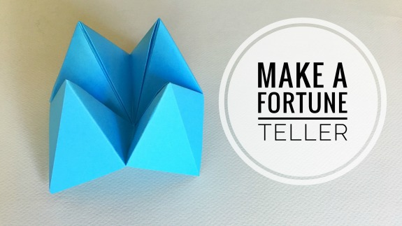 How To Make Paper Fortune Tellers Inner Child Fun