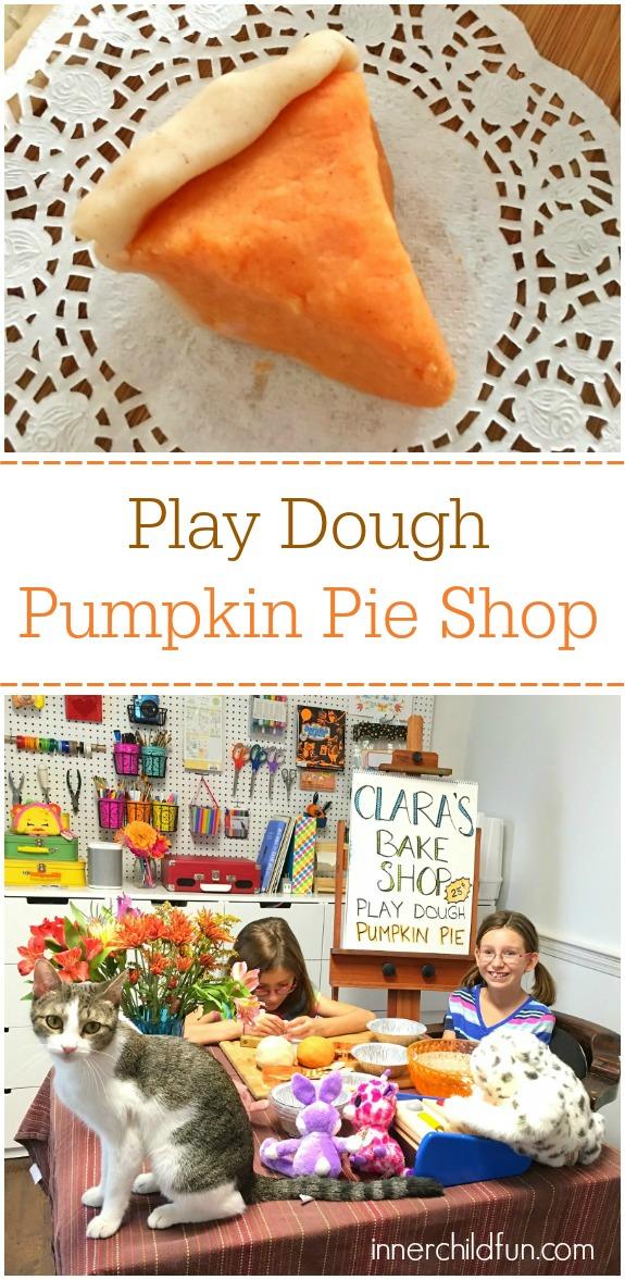Play Dough Pumpkin Pie Shop