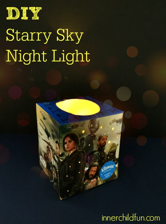 DIY Starry Sky Night Light