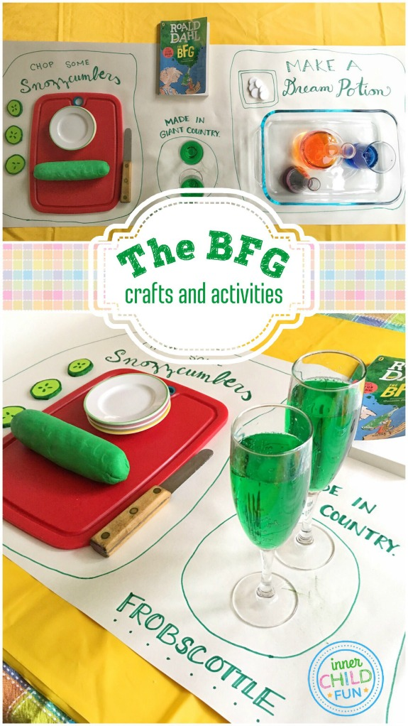 The BFG - Crafts and Activities
