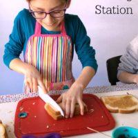 Sandwich Making Station