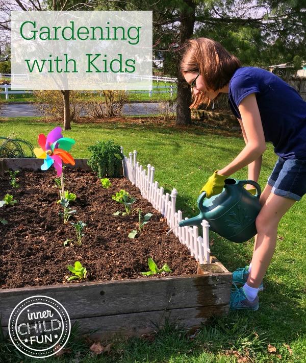 Gardening with kids inner child fun for Gardening with children