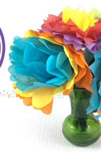 Tissue Paper Flower Video Tutorial