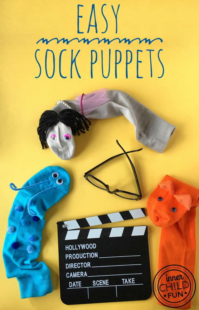 Easy Sock Puppets