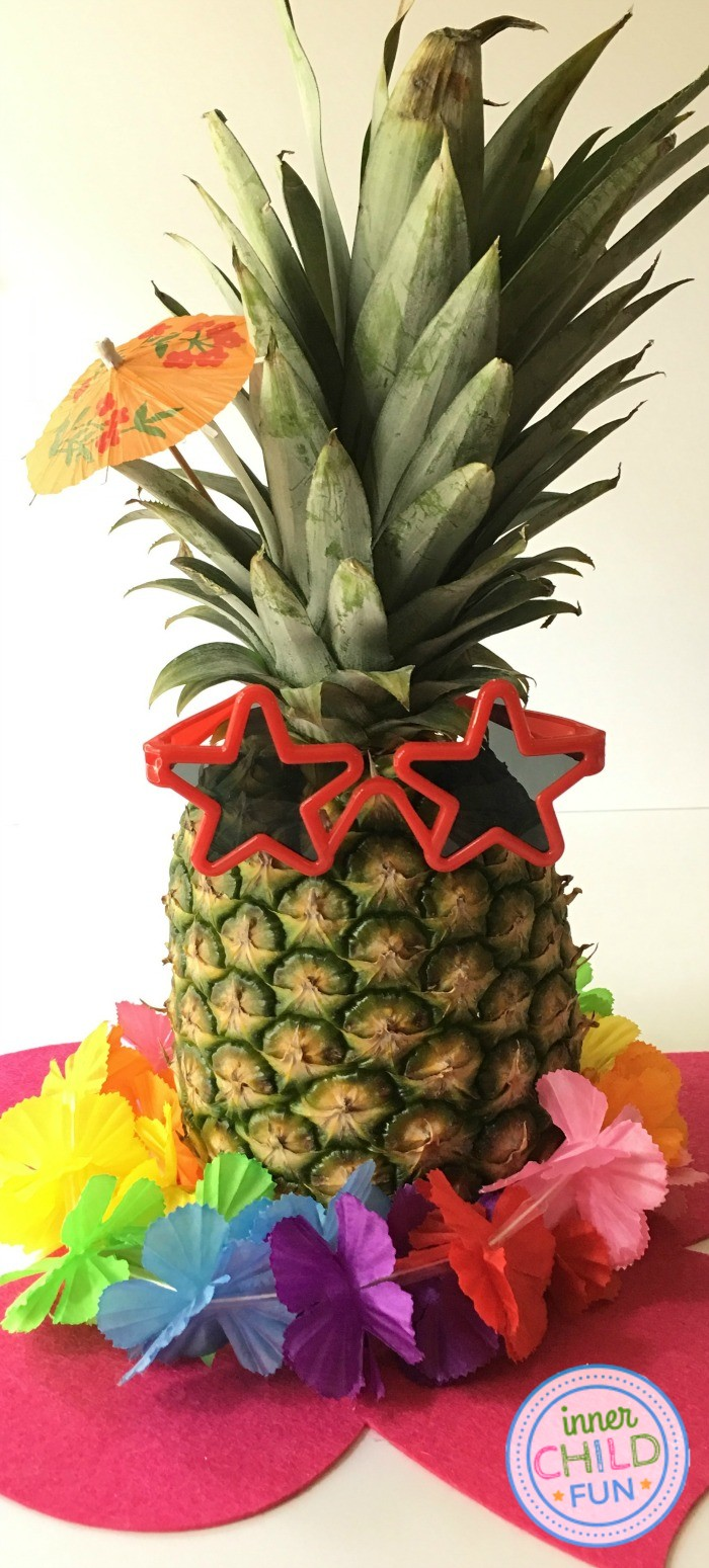 Luau Centerpieces - Quick and Easy