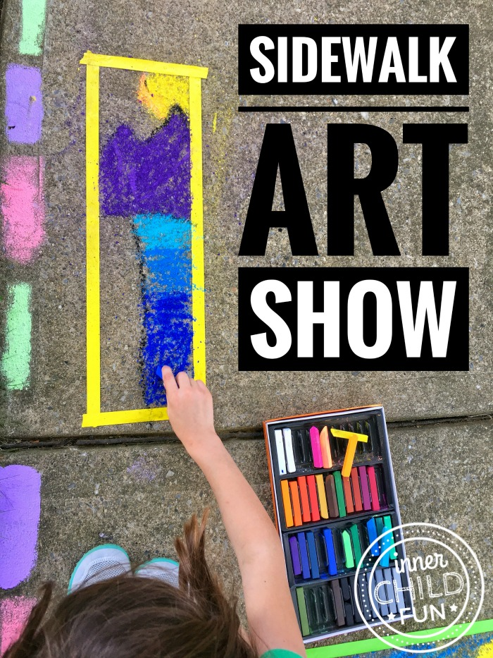 Sidewalk Art Show