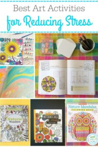 Best Art Activities to Reduce Stress