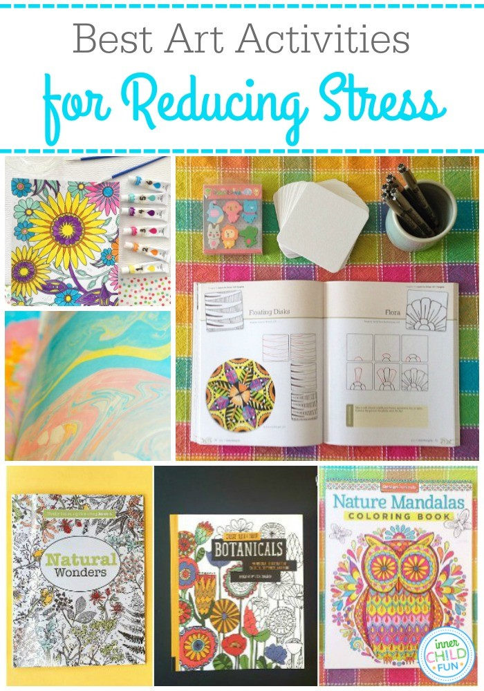 Best Art Activities for Reducing Stress