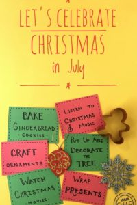 Let's Celebrate Christmas in July!