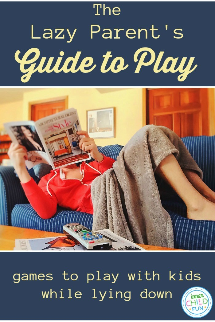 Games to Play with Kids While Lying Down