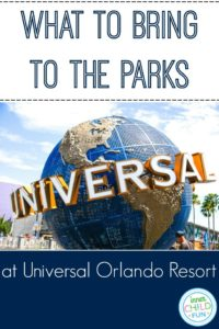 What to Bring to the Parks at Universal Orlando Resort