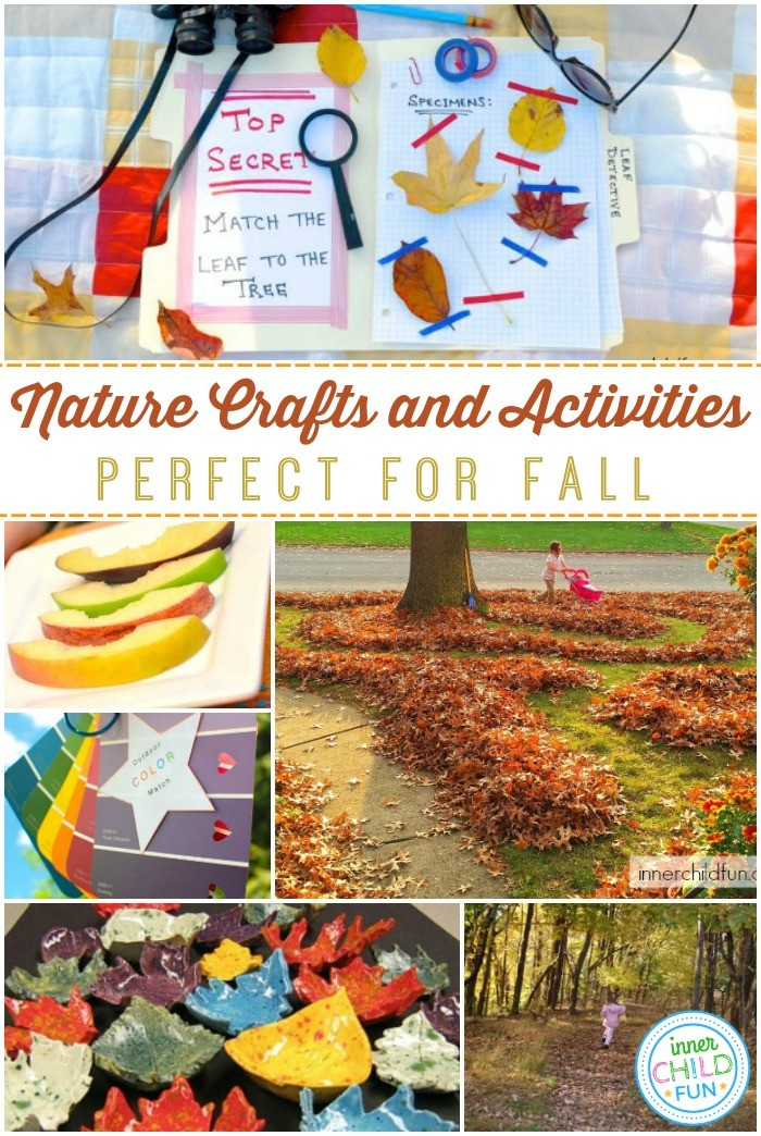 Nature Crafts and Activities for Fall