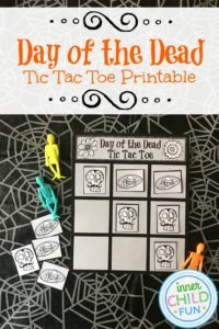 Day of the Dead Tic Tac Toe Printable