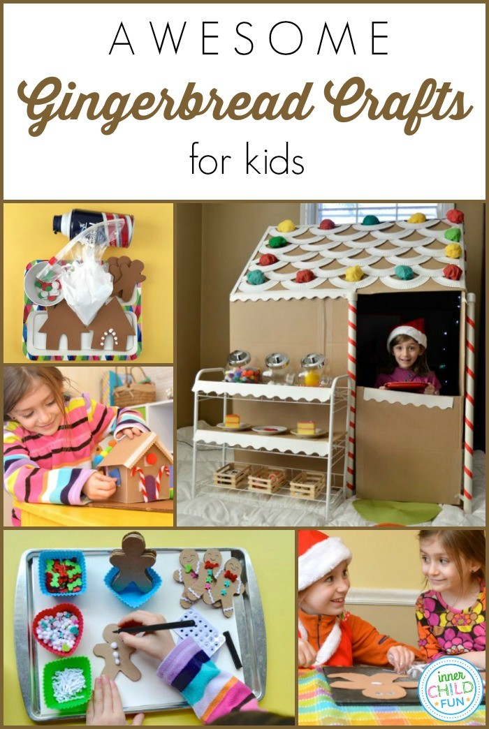 Awesome Gingerbread Crafts for Kids