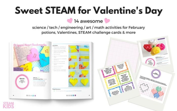 Valentine STEAM Printable eBook