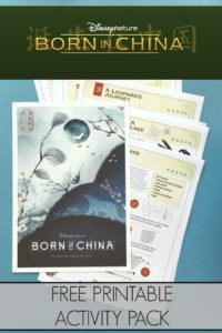 DisneyNature's Born in China Activity Packet!