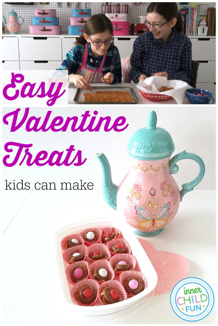 Easy Valentine Treats Kids Can Make