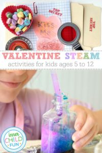 Valentine STEAM Activities for Kids Ages 5-12