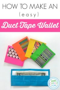 How to Make a Duct Tape Wallet (EASY)