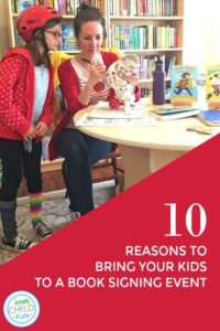 10 Reasons Why You Should Bring Your Kids to a Book Signing Event