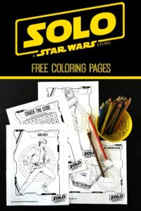 SOLO: A STAR WARS STORY Free Printable Coloring Pages