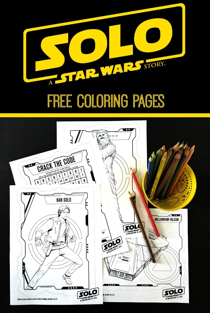 SOLO A STAR WARS STORY Free Printable Coloring Pages