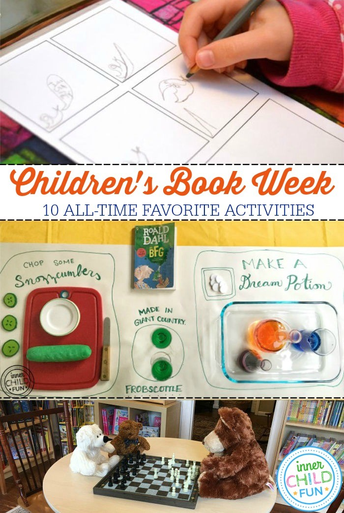 Children's Book Week Activities - 10 all-time favorites