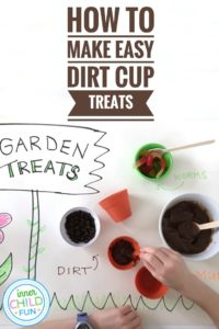 Easy Dirt Cup Treats Kids Can Make