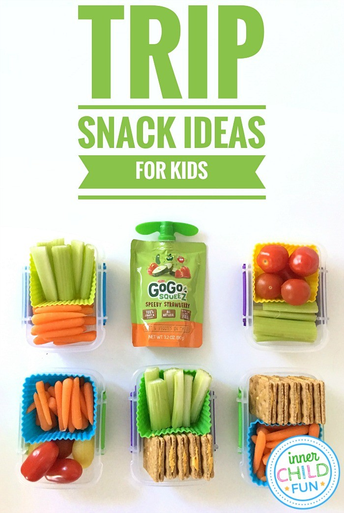 15 Road Trip Snack Ideas for Kids