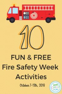 10 Fun and Free Fire Safety Week Activities