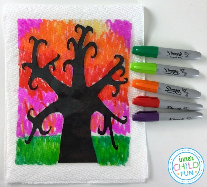 Fall Art Project for Teens or Tweens