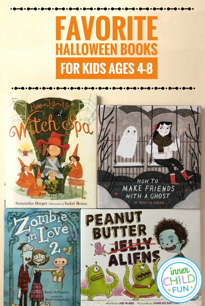 Favorite Halloween Books for Kids Ages 4-8