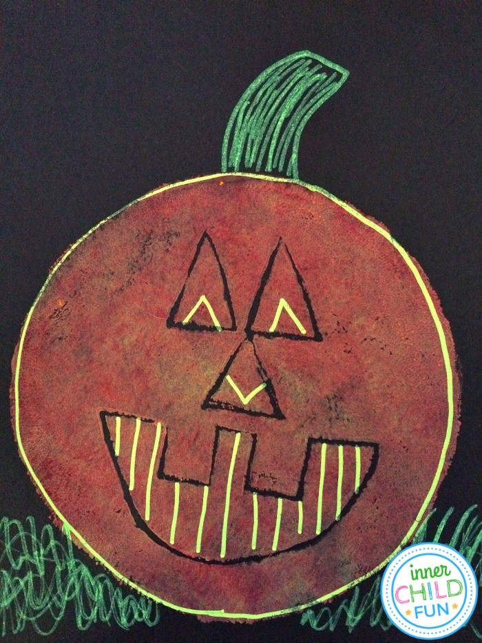 Pumpkin Art Project for Ages 8 and Up