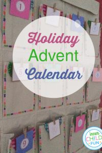 Advent Calendar Easy Holiday Craft
