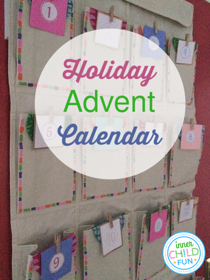 Advent Calendar Easy Holiday Craft